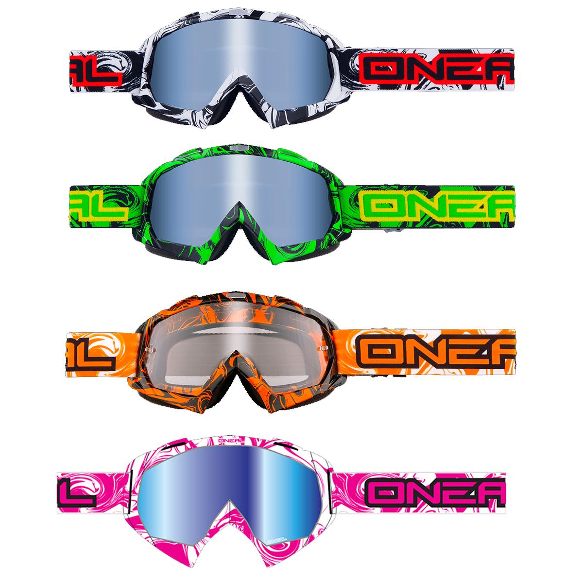 Oneal B-Flex Hendrix Ajolasit peililinssillä - Supermoto Center 137fa58f57